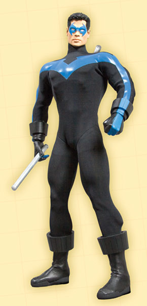 Image: Nightwing 13-Inch Deluxe Collector Figure  -