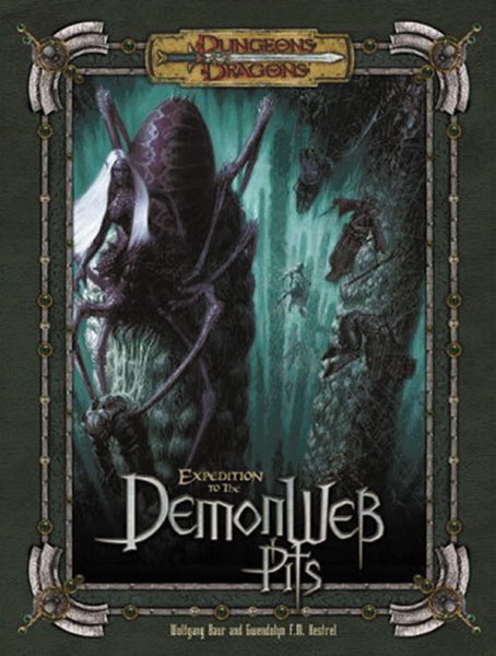 Image: Dungeons & Dragons Expedition to the Demonweb Pits HC  -