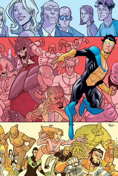 Image: Invincible Ultimate Collection Vol. 03 HC  - Image Comics