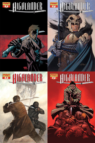 Image: Highlander #7 - D. E./Dynamite Entertainment