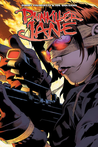 Image: Painkiller Jane Vol. 1 SC  (regular cover) - D. E./Dynamite Entertainment