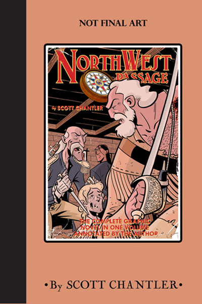 Image: Annotated Northwest Passage  (delue hc) - Oni Press Inc.