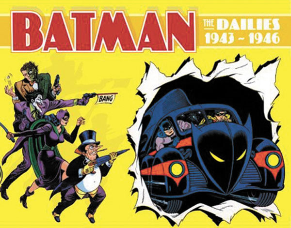Image: Batman: The Dailies 1943-1946 HC  - DC Comics