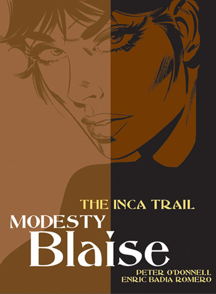 Image: Modesty Blaise: Inca Trail SC  - Titan Publishing