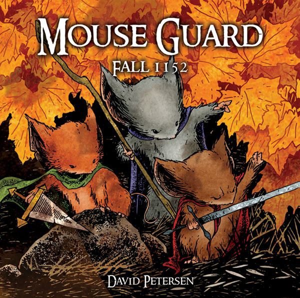 Image: Mouse Guard Vol. 01: Fall 1152 HC  - Archaia Studios Press