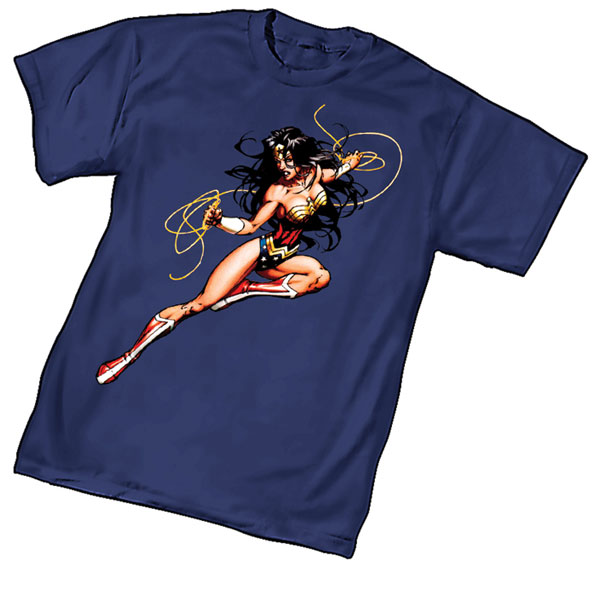 Image: Wonder Woman Lasso by Michael Turner T-Shirt  (L) -
