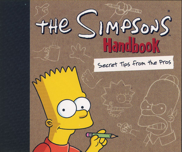 Image: Simpsons Handbook: Secret Tips from the Pros HC  -