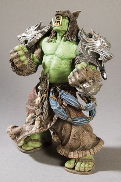 Image: World of Warcraft Series 1 Action Figure: Rehgar Earthfury - Orc Shaman  -