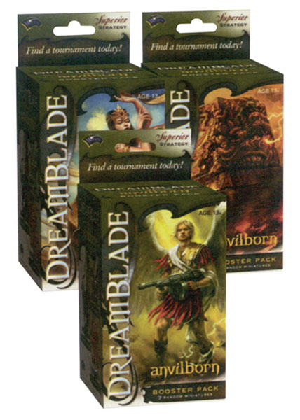 Image: Dreamblade CMG Anvilborn Booster Pack  -