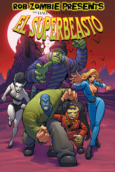 Image: Rob Zombie Presents the Haunted World of El Superbeasto Vol. 01 SC  - Image Comics