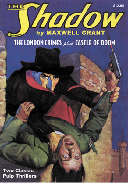 Image: Shadow Vol. 08: London Crimes & Castle of Doom SC  -