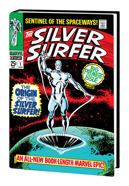 Image: Silver Surfer Omnibus Vol. 1  (variant painted cover edition) HC - Marvel Comics