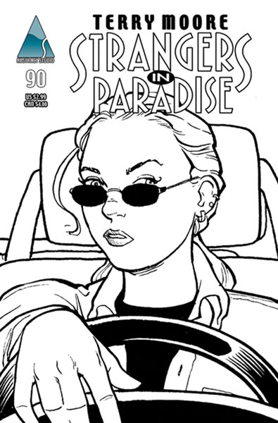 Image: Strangers in Paradise Vol. III #90 (cover A Katchoo) - Abstract Studios