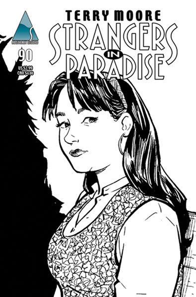 Image: Strangers in Paradise Vol. III #90 (cover B Francine) - Abstract Studios