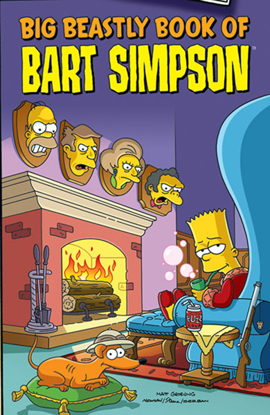 Image: Big Beastly Book of Bart Simpson SC  - Bongo Comics