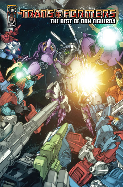 Image: Transformers: Best of Don Figueroa HC  - IDW Publishing