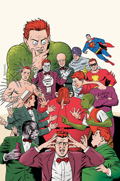 Image: Superman: The Amazing Transformations of Jimmy Olsen SC  - DC Comics