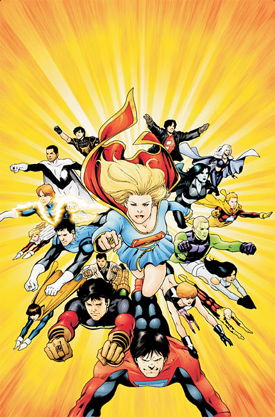 Image: Supergirl & the Legion of Super-Heroes #31 - DC Comics