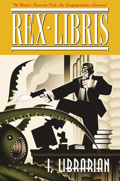 Image: Rex Libris Vol. 01: I, Librarian SC  - Amaze Ink/Slave Labor Graphics