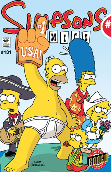 Image: Simpsons Comics #131 - Bongo Comics