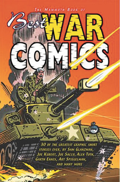 Image: Mammoth Book of Best War Comics SC  - Carroll & Graf