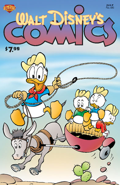 Image: Walt Disney's Comics & Stories #682 - Gemstone Publishing