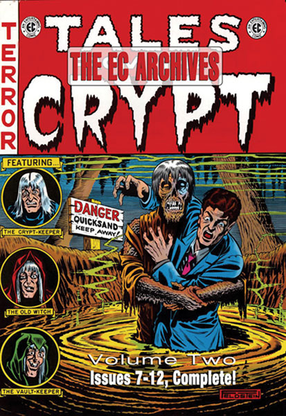 Image: EC Archives: Tales From the Crypt Vol. 02 HC  - Gemstone Publishing