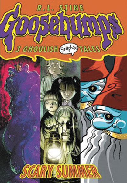 Image: Goosebumps Graphix Vol. 03: Scary Summer SC  - Graphix