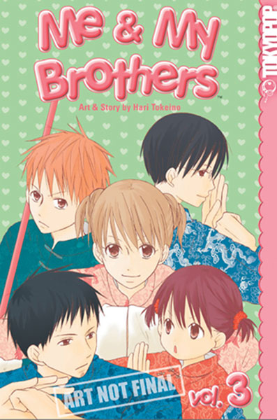 Image: Me & My Brothers Vol. 01 SC  - Tokyopop