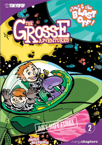 Image: Grosse Adventures Vol. 03: Trouble Twilight Cave Novel  - Tokyopop