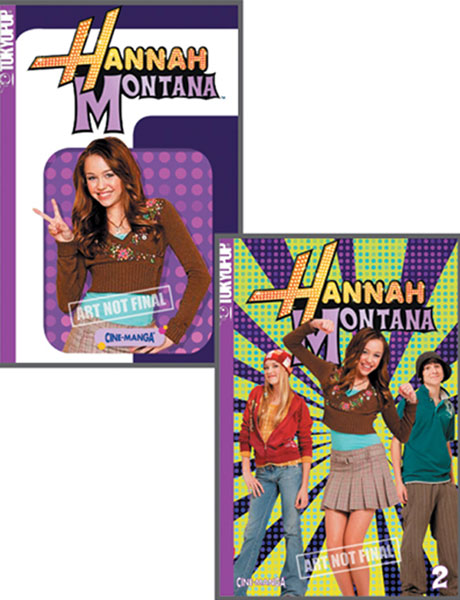 Image: Hannah Montana Cinemanga: Secrets and Super Sneaks SC  - Tokyopop Cine-Manga