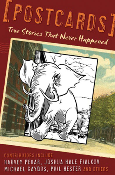 Image: Postcards: True Stories That Never Happened HC  - Villard Books