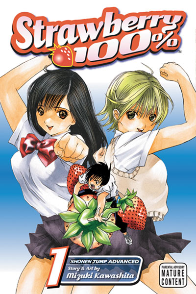 Image: Strawberry 100 Vol. 01 SC  - Viz Media LLC