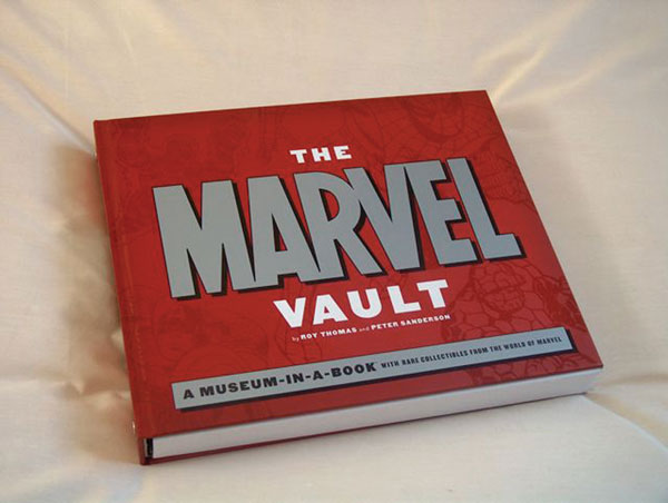 Image: Marvel Vault Museum in a Book  (spiral hc) - Marvel Comics