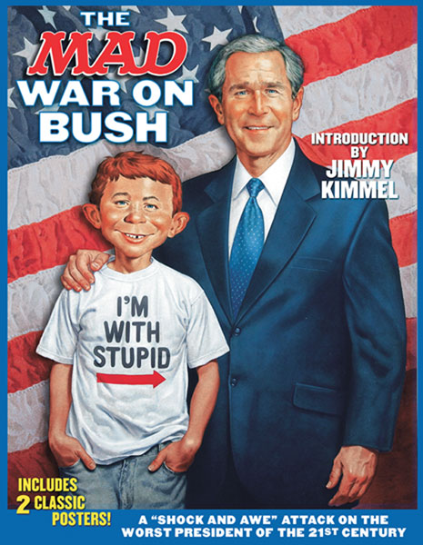 Image: Mad War on Bush  - DC Comics