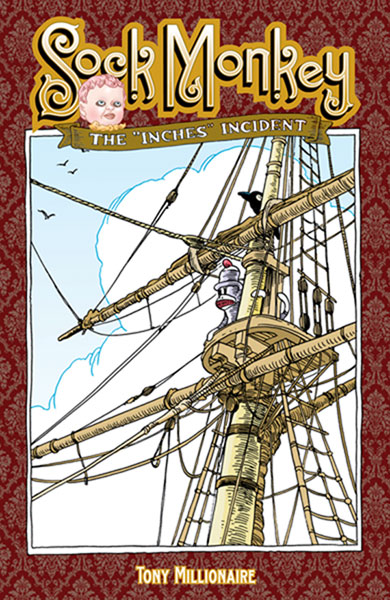 Image: Sock Monkey: The Inches Incident SC  - Dark Horse Comics