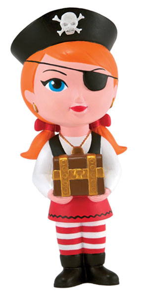 Image: Lisa Petrucci's Kick-Ass Kuties Penny Pirate Vinyl  -
