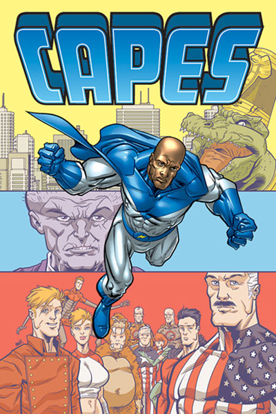 Image: Capes Vol. 01: Punching the Clock SC  - Image Comics
