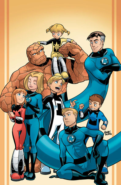 Image: Fantastic Four and Power Pack #1 - Marvel Comics