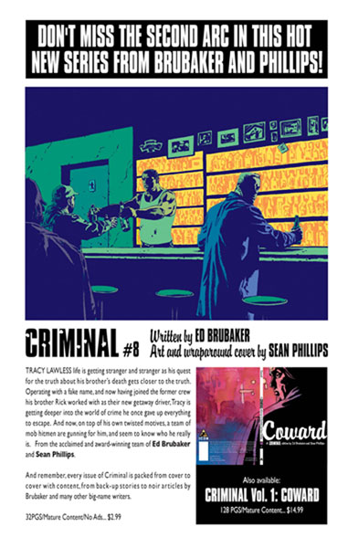 Image: Criminal #8 - Marvel Comics