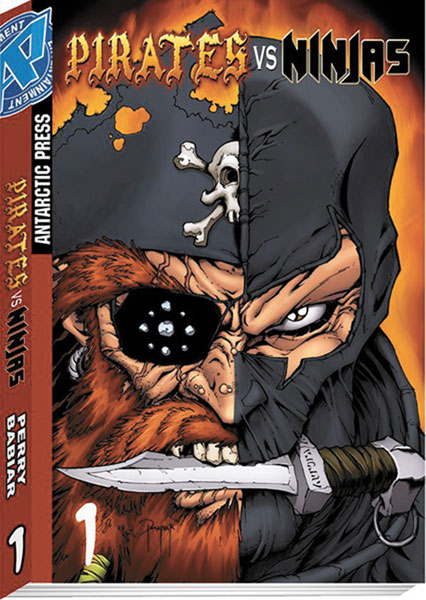 Image: Pirates vs. Ninjas Vol. 01 SC  - Antarctic Press