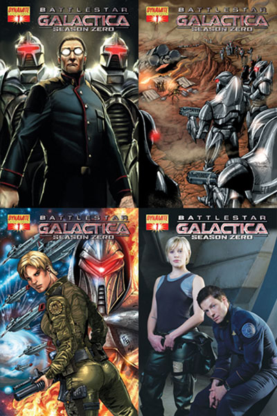 Image: Battlestar Galactica: Season Zero  #1 (Sejic Cover) - D. E./Dynamite Entertainment