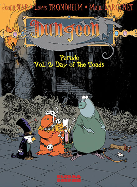 Image: Dungeon Parade Vol. 02: Day of the Toads SC  - NBM