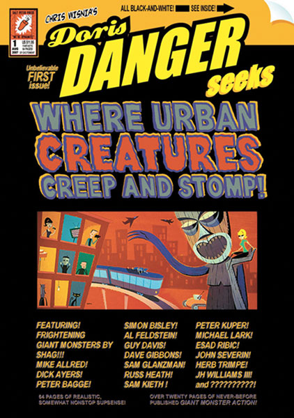 Image: Doris Danger Seeks... Where Urban Monsters Creep & Stomp! SC  - Salt Peter Press