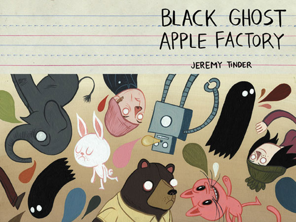Image: Black Ghost Apple Factory  - Top Shelf Productions