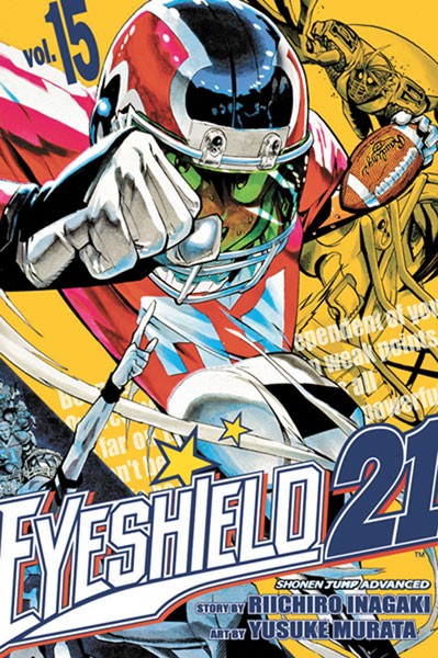 Image: Eyeshield 21 Vol. 15 SC  - Viz Media LLC