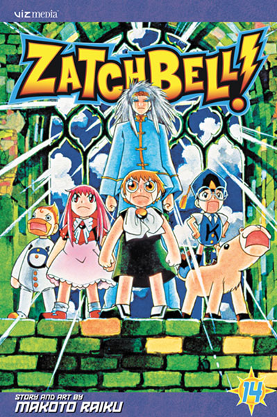 Image: Zatch Bell Vol. 14 SC  - Viz Media LLC