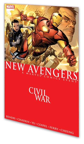 Image: New Avengers Vol. 05: Civil War SC  - Marvel Comics
