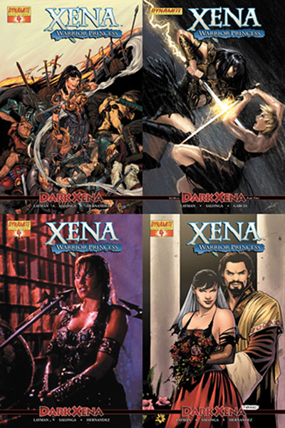Image: Xena Vol. 2 #4 - D. E./Dynamite Entertainment
