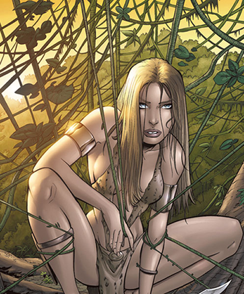 Image: Sheena, Queen of the Jungle - Tim Seeley Cover #3 - Devil's Due Publishing